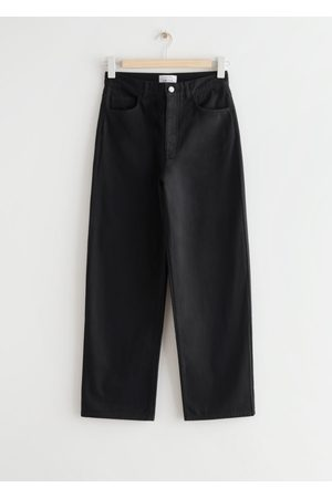 & OTHER STORIES Wide High Waist Cotton Trousers