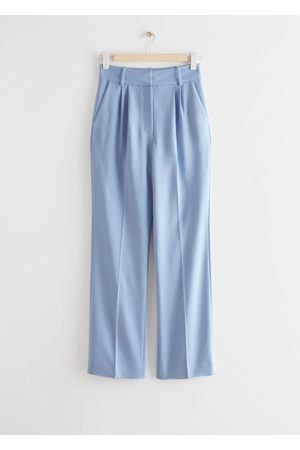 & OTHER STORIES Straight High Waist Trousers