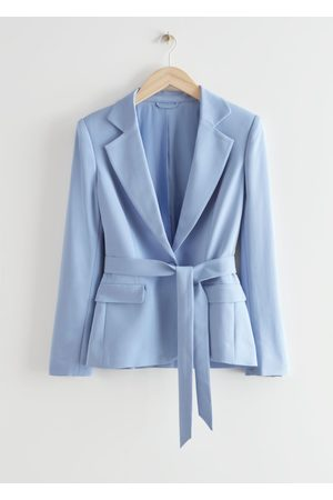 & OTHER STORIES Belted Tailored Blazer Jacket