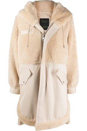 Mr & Mrs Italy X Elizabeth Sulcer hooded parka - Neutrals