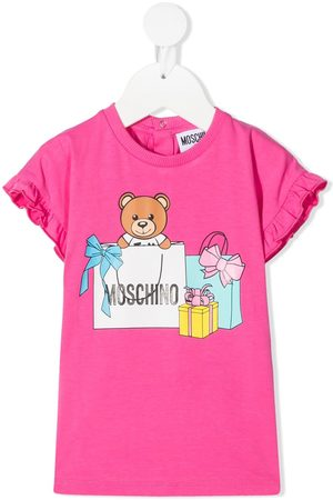 Moschino Teddy bear print dress
