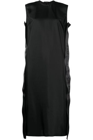 SOFIE D'HOORE Satin stripe detail dress