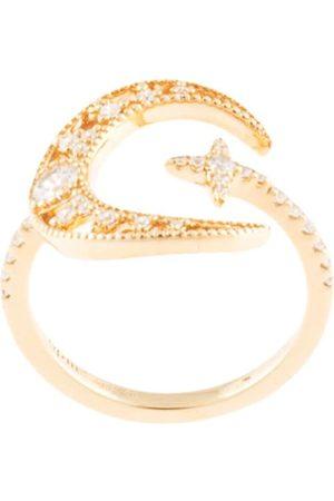 APM Monaco Toi Et Moi moon wrap ring