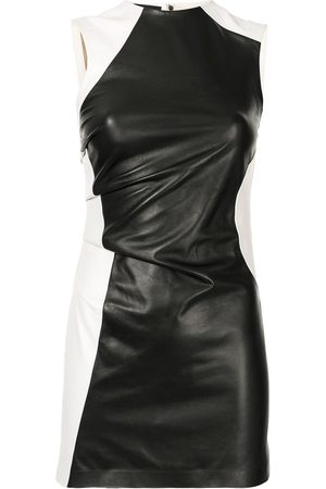 Proenza Schouler Ruched leather sleeveless top