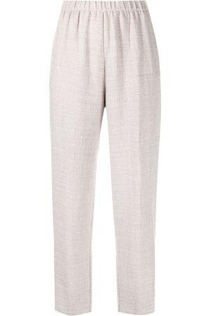 Forte Forte Cropped slim-fit trousers