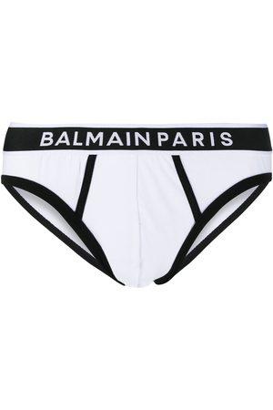 Balmain Men Boxer Shorts - Logo waistband briefs