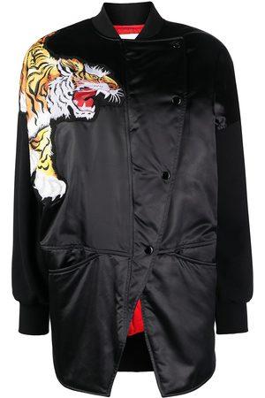 Kenzo Tiger patch bomber jacket
