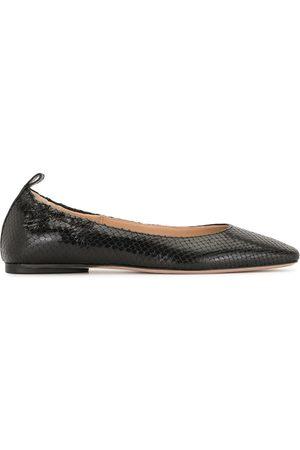 VERONICA BEARD Alison leather ballerina shoes