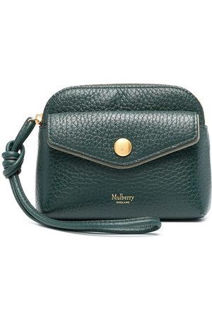 Mulberry Heavy grain leather pouch