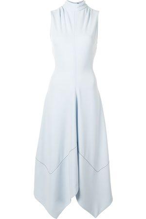 Proenza Schouler Sleeveless silk asymmetric dress