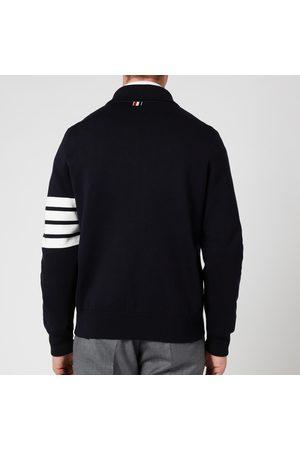 Thom Browne Men's Four-Bar Sleeve Bomber Jacket