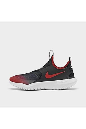 Nike Boys' Little Kids' Flex Runner Running Shoes in /University Red Size 1.5 Leather