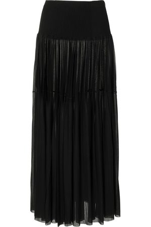 Proenza Schouler Gauzy pleated maxi skirt