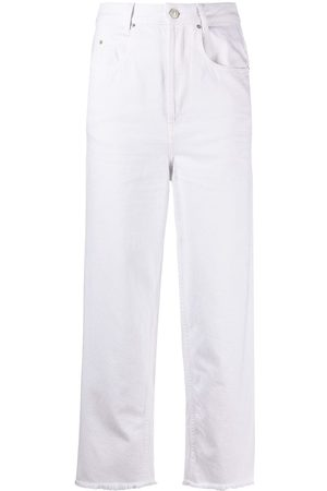 Isabel Marant Straight-leg cropped jeans