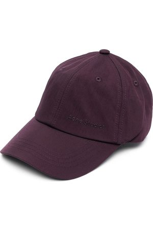 Acne Studios Caps - Embroidered logo baseball cap