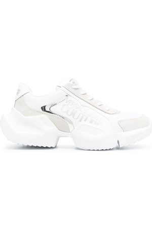 VERSACE Logo chunky-sole sneakers