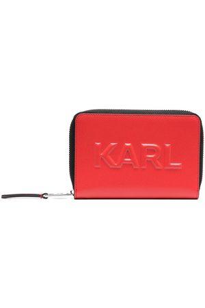 Karl Lagerfeld K/Karl Seven medium logo-embossed wallet