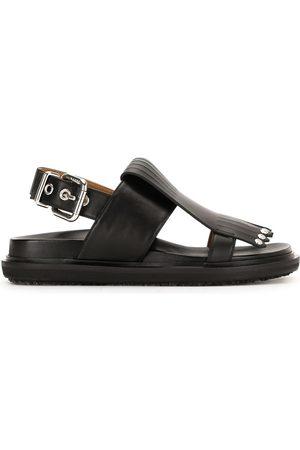 Marni Fringe studded sandals