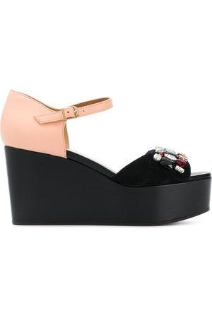 Marni Embellished flatform sandals