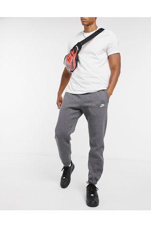 Nike Club casual fit cuffed sweatpants in gray