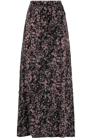 Diesel Women Printed Skirts - Floral print maxi skirt