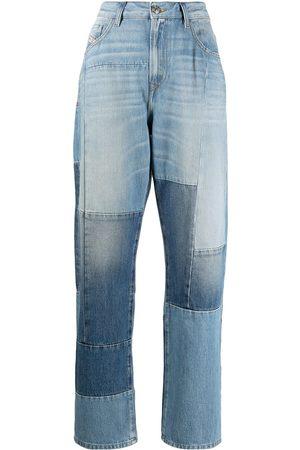 Diesel Patchwork cropped jeans