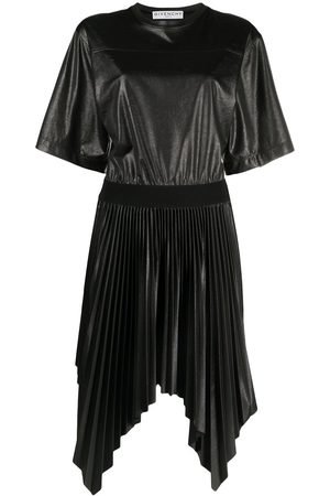 Givenchy Pleated handkerchief-hem dress