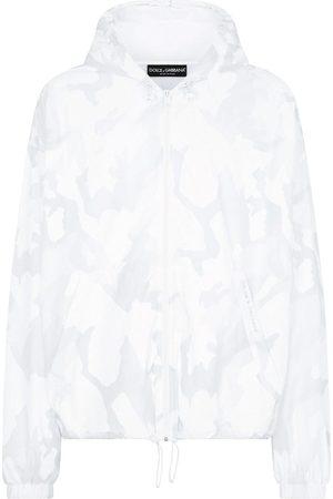 Dolce & Gabbana Abstract pattern windbreaker jacket