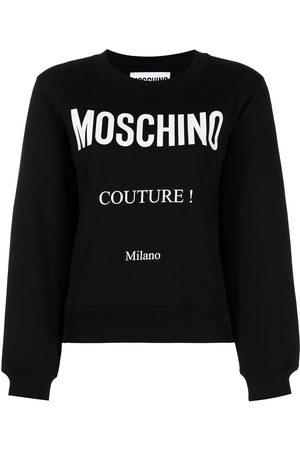 Moschino Women Tops - Couture! print sweathirt