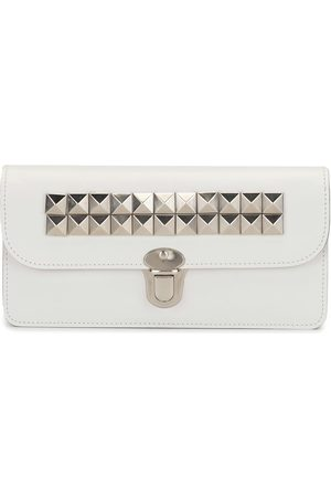 Comme des Garçons Studded leather wallet
