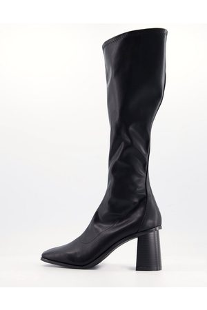 Raid Lennyo knee high boots in leather look