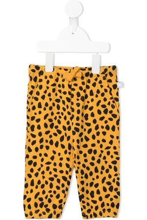 Stella McCartney Cheetah-print organic-cotton trousers