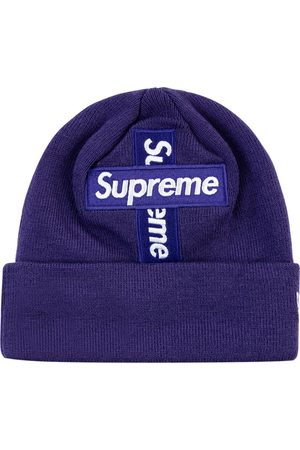 Supreme Beanies - New Era Cross Box Logo beanie hat