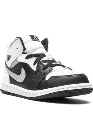 """Jordan Kids Sneakers - Air Jordan 1 Mid """"White Shadow"""" sneakers"""
