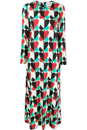 La DoubleJ Women Casual Dresses - Heart-print swing dress