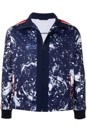 Ports V Printed zip-up track jacket
