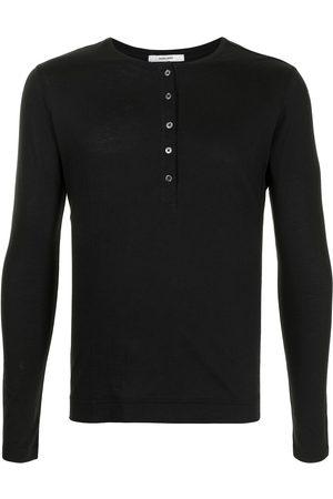 ADAM LIPPES Long-sleeved cotton T-shirt
