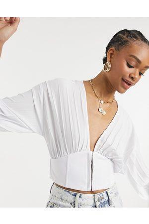 Steele Twiggle pleated blouse in