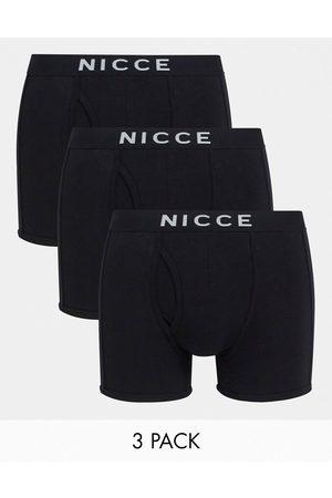 Nicce London Cubar 3 pack trunks in