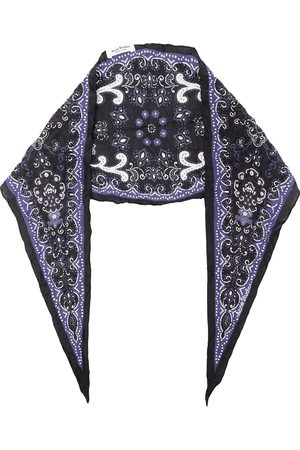 Acne Studios Scarves - Paisley diamond shape scarf