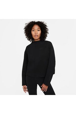 Nike Women's Sportswear Tech Fleece Crew Sweatshirt in / Size X-Small Cotton/Polyester/Fleece