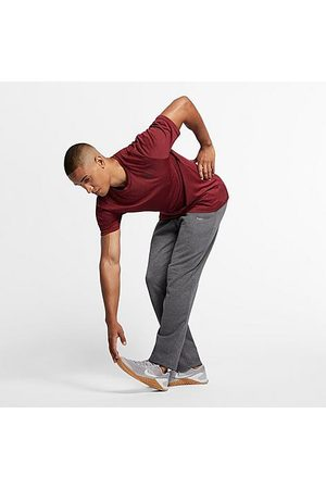 Nike Men Tracksuits - Men's Therma Jogger Pants in Grey/Charcoal Heather