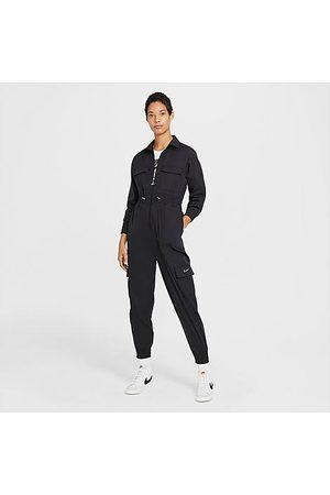 Nike Women Jumpsuits - Women's Sportswear Swoosh Utility Jumpsuit in / Size X-Small