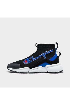 Champion Boys Casual Shoes - Boys' Big Kids' Rally Future Mid Casual Shoes in /Blue Size 5.0