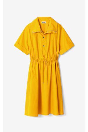 Kenzo Fitted midi dress