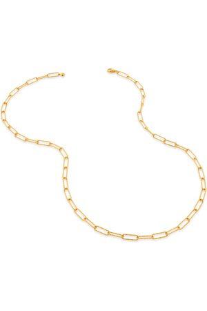 Monica Vinader Women Necklaces - Gold Alta Textured Chain Necklace