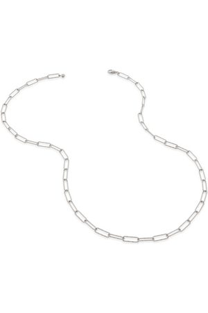 Monica Vinader Women Necklaces - Sterling Silver Alta Textured Chain Necklace