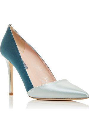 Sjp Women's Rampling Color Block Pumps