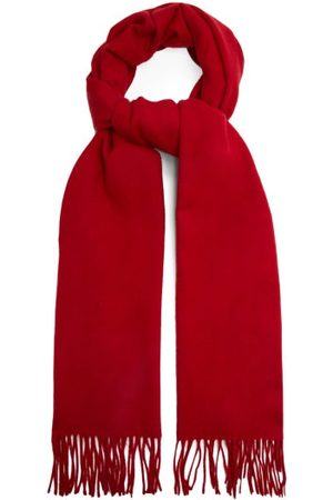 Raey Fringed Wool-blend Scarf - Womens
