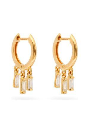 Ileana Makri Hug Diamond & 18kt Earrings - Womens